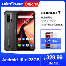 <b>Ulefone Armor 7</b> Android 10 Rugged Mobile Phone 2.4G/5G WiFi ...