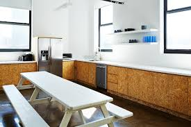 Office Kitchen Design Kitchen Of The Week The Stylishly Economical Kitchen Chipboard
