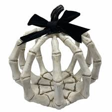 Holiday Home® Skeleton Pumpkin - Ivory, 8 in - Fry's Food Stores