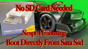 <b>RETROFLAG Nespi 4</b> Case Pi 4 Ssd - YouTube
