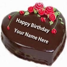 Write Nick Name on <b>Happy Birthday Cake</b> and Send on Whatsapp ...