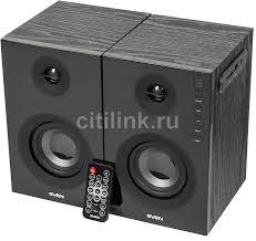 Купить <b>Колонки</b> Bluetooth <b>SVEN SPS</b>-<b>721</b>, 2.0, черный в интернет ...