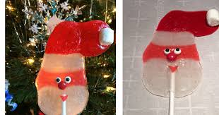 Santa Lollipops Made with Jolly Ranchers: Great Christmas Candy ...