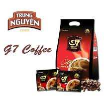 G7 Trung Nguyen <b>Black Coffee 100pcs</b>(200g) Vietnam Coffee Pure ...