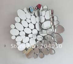 mirror wall decor circle panel: home decoration artistic mirrors wall decor with numerous mirror wall decor for interior wall decor