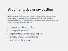 college essays  college application essays   outlines for    argumentative essay outline template