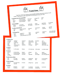 Transition Words   Phrases Patrick Healy Fellows