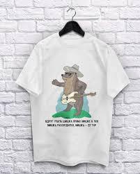 """Хлопковая <b>футболка</b> """"<b>МИШКА</b> ZZ TOP"""" белая XL (S,L,ХХL)"""