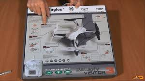 Квадрокоптер с фишками, Galaxy Visitor 3 - YouTube