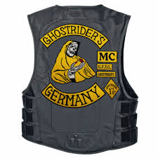 <b>mc1931 7pcs/Set GHOSTRIDER'S GERMANY</b> Embroidered Patch ...