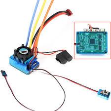 120a esc <b>sensored brushless speed controller</b> for 1/8 1/10 car/truck ...