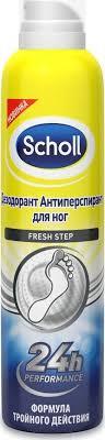 "<b>Scholl Дезодорант-антиперспирант</b> для ног ""Fresh Step"", 150 мл"