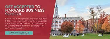 sample harvard business school application essay