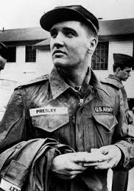 「Elvis Presley received his draft notice for the United States Army.」の画像検索結果