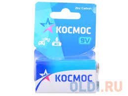 <b>Батарейка КОСМОС KOC6F221BL S</b> 6F22 (блист.1шт.) — купить ...