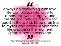 the kelly way a loving and purposeful community a shared our mission