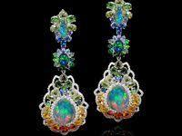опалы серьги: лучшие изображения (75) | Jewelry design, Opal ...