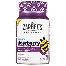 ZarBee's Naturals <b>Children's Elderberry Immune Support</b> Berry ...