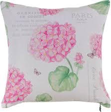 """Чехол для <b>декоративной подушки Apolena</b> """"Розовая гортензия ..."""