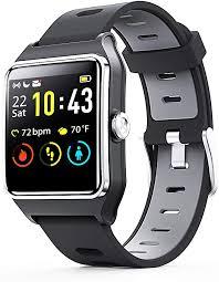 <b>Smart Watch</b> - ENACFIRE <b>W2</b> IP68 Waterproof Fitness Tracker ...