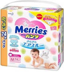 <b>Трусики Merries</b> → цена, купить японские <b>подгузники</b>-<b>трусики</b> ...
