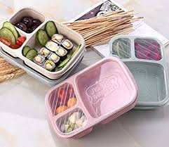 Lunch Box Wheat Straw Microwave Tableware Bento Box with <b>Owl</b> ...