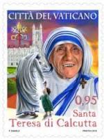 Vatican prepares 'St. Teresa' of Kolkata stamp