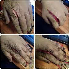 makeup liquid latex scar wax sfx special effects makeup spfx walking dead wound makeup zombie zombie hands zombie makeup zombie tutorial