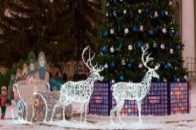 Новогодние уличные <b>светодиодные фигуры</b> - купить световые ...