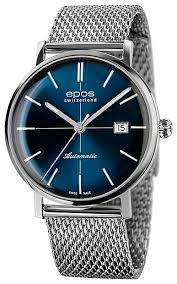 Наручные <b>часы epos</b> 3437.132.20.16.30 — купить по выгодной ...