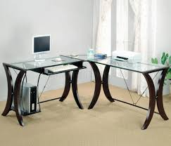 confortable glass top office desk luxurius interior design ideas for home design amazing glass office desks