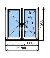<b>Окна</b> одностворчатые <b>ПВХ</b> в Коломне 🥇