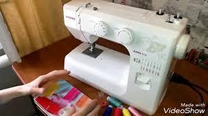 ОБЗОР на швейную машину <b>JANOME</b> JUNO 513. - YouTube