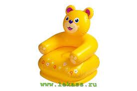 <b>intex</b> 68556 - Детские <b>надувные кресла HAPPY</b> ANIMAL