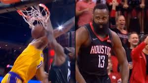 James Harden Murders JaVale McGee with EPIC Dunk   Rockets vs ...