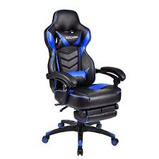 Luxury <b>Executive Racing</b> Gaming <b>Office Chair</b> 360° Swivel ...