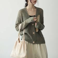 Johnature 2019 <b>New Autumn</b> Women <b>Vintage</b> Sweater Cotton ...