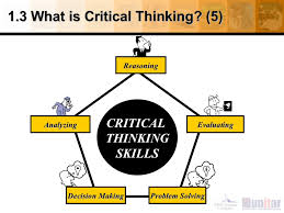 1 3 what is critical thinking