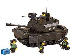 <b>Sluban</b> M38-B6500 Army Leading Tank: Amazon.co.uk: Toys & Games