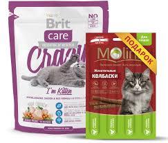<b>Сухой корм Brit Care</b> Cat Crazy Kitten для котят, беременных и ...