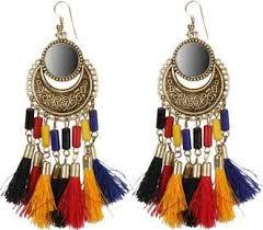 <b>Tassel</b> Earrings - Buy <b>Tassel</b> Earrings online at Best Prices in India ...