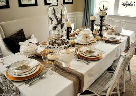 Tablecloths For Dining Room Tables Set Dinner Table On Saturdaytourofhomescom
