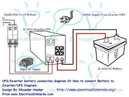 inverter battery wiring diagram inverter image ups battery connection diagram ups image wiring on inverter battery wiring diagram