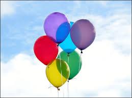 Resultado de imagem para balões de aniversário