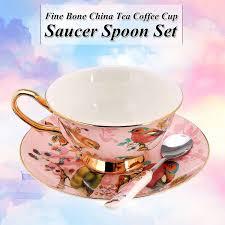 6 <b>Style</b> 240ml Blue Pink Porcelain <b>Fashion British</b> Bone China ...