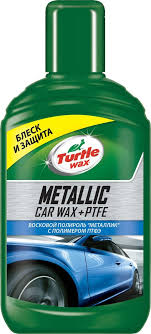 Автополироль <b>Turtle Wax Ptfe</b> Car Wax Metallic + <b>PTFE</b>, восковой ...
