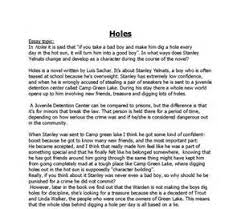 holes louis sachar essay wwwgxartorg holes louis sachar friendship essay essay topicsholes by louis sachar book report english research paper topics