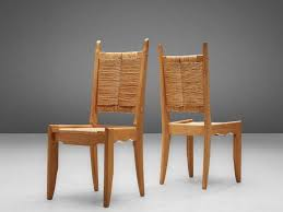 Set of <b>6 Dining Chairs</b> by Guillerme et Chambron – Morentz