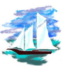 Картинки по запросу кораблик нарисованный