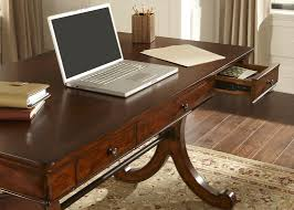 home office writing desk with poplar solids cherrybirch veneers in rustic cherry finish cherry veneer home furniture